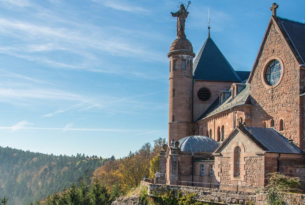 Découvrez le mont Sainte-Odile dans le Bas-Rhin